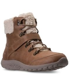 Skechers Women's Relaxed Fit: Reggae Fest Boots from Finish Line - DARK NATURAL 8.5