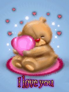 I Love You gif by Cute_Stuff Love Hug, Love Bear, Cute Love, My Love, Teddy Bear Day, Cute Teddy Bears, I Love You Images, Love Pictures, I Love You Gifs