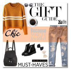 """""""www.sheinside.com"""" by mery1991 ❤ liked on Polyvore featuring Michael Kors, Abercrombie & Fitch, rag & bone, DutchCrafters, Wood Wood, Wet Seal and Sheinside"""