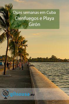 Segunda parte da viagem por Cuba, uma curta passagem por Cienfuegos a caminho do objectivo principal da viagem, mergulhar em Playa Girón! Cienfuegos, Travel Plan, Us Travel, Best Places To Travel, Places To Visit, Travel Pictures, Travel Photos, Cuba, Travel Guides