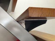 Support de marche simple en acier - Art Métal Concept