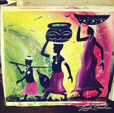 artwork by the hard life artists in tanzania