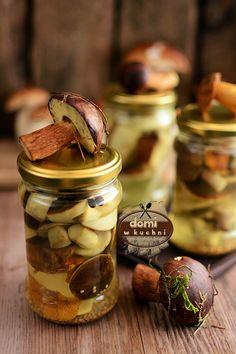Polish Recipes, Preserves, Food Inspiration, Pickles, Cucumber, Stuffed Mushrooms, Food And Drink, Homemade, Vegan