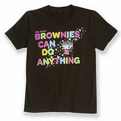 """Girl Scout Shop - Official """"Brownies Can Do Anything"""" T-Shirt"""
