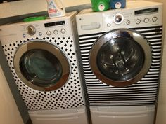 Boring washer and dryer no more!!