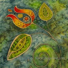 The Quilt Rat: Easy Batik Method - lots of great info on this blogsite - even making my own printable fabric sheets