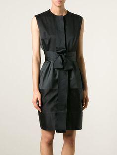 LANVIN sleeveless belted dress