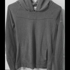 Columbia Hoodie Gray Columbia fleece hoodie. Columbia Tops Sweatshirts & Hoodies