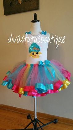 Shopkins tutu setShopkins dresscupcake queen by Divastutusboutique