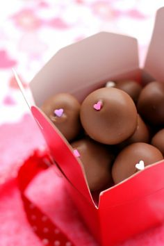 Valentijn pralinekes