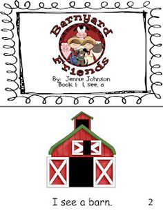 Barnyard Friends Early Sight Word Reader