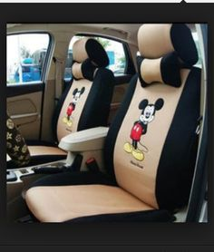 I want these #Mickey #mouse #seat #covers