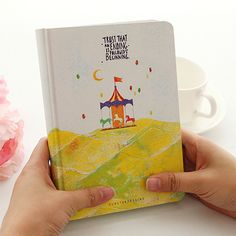 "A5 Hardcover Cute Diary Book Color Pages Notebook School Office Stationery ""Forest Life"" Journal Planner Agenda Notepad-in Notebooks from Office & School Supplies on Aliexpress.com 