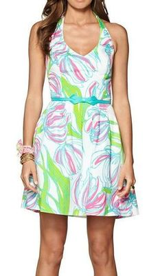 Lilly Pulitzer Ross Halter Dress, I cannot believe that I own this!