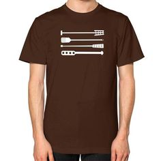 Tools of the Trade Mash Paddles Craft Beer T-Shirt (Unisex) Brown Staunchly Craft