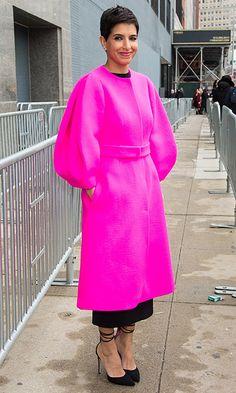 Saudi royal and Vogue Arabia's launch editor-in-chief Princess Deena Aljuhani Abdulaziz