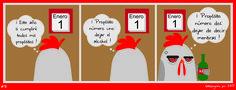 """""""Martes de Recalentado"""" presenta Gallopingüino No. 91 !!! Porque somos bien cumplidores !!! #GallopinguinoQuotes facebook.com/gallopinguino"""