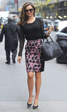 Miranda Kerr #streetstyle