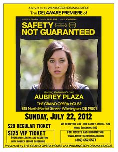 Safety Not Guaranteed quite possibly one of the more recent films that has grasped my full attention from beginning to end...it doesn't take itself too seriously and is quite charming.
