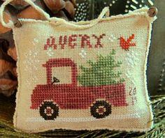 Avery's Little truck--Homespun Elegance
