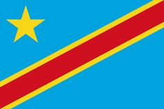 Download the Democratic Republic Of The Congo Flag Free