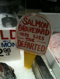 as seen in Lexington Market in Baltimore...