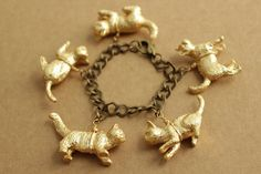 DIY Kitty Cat Bracelet Tutorial