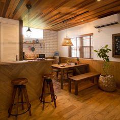 daijimanさんの、journal standard Furniture,カフェ風,カリフォルニアスタイル,グリーンのある暮らし,minerbase,注文住宅,西海岸,新築,部屋全体,のお部屋写真