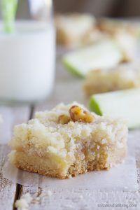 Recipe for Apple Crumb Bars