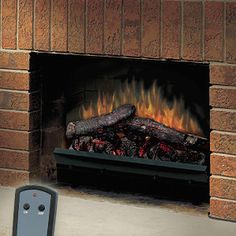 Dynasty Electric Fireplace Insert to Fill Space from Wood ...