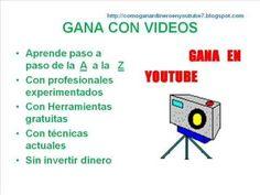 COMO GANAR DINERO CON VIDEOS EN YOUTUBE | Como ganar dinero con videos e...