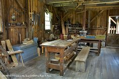 If I am going to ever build my own cabin, I would sure need a wood shop.