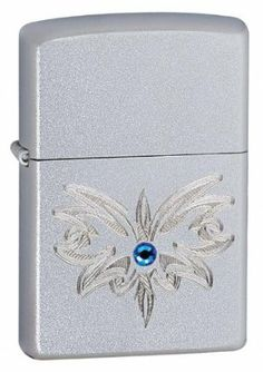 Zippo BL Wings- Satin Chrome Lighter by Zippo. $30.00. made in usa. zippo 24467 bl -wings. ATTRIBUTES Finish/Material: Satin Chrome Fuel: Butane Graphic: Engraved Image with Blue Swarvoski Crystal Special Features: Windproof