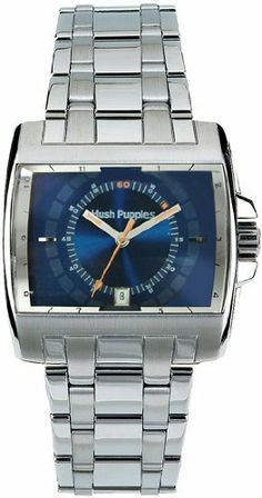 Hush Puppies Orbz Men's Quartz Watch HP-3259M-1503 Hush Puppies. $42.50. Blue Dial With Luminous Hands. Stainless Steel Case and Bracelett. Functions: Date, Hour, Minute, Second. Japan Movement - Miyota 1M12, Citizen Group. Save 75% Off!