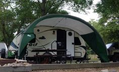 R-DOME Awning for Forest River R-Pod | Pod camper, Hybrid ...