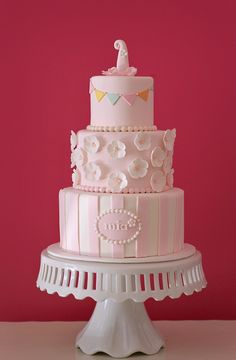 The Couture Cakery - 1st birthday cake