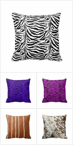 #Pillows / Poufs Unique images and designs cover these throw pillows, poufs and ottomans.#zazzle #homedecor #gravityx9