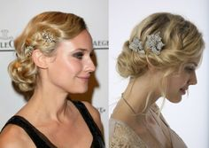 vintage Updo Hairstyles With Veil | Bridal trends 2012 - Vintage inspired wedding dresses