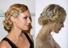 vintage Updo Hairstyles With Veil | Bridal trends 2012 - Vintage inspired wedding dresses