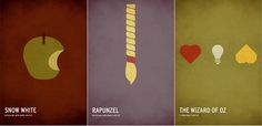 Minimalist Children's Stories Posters