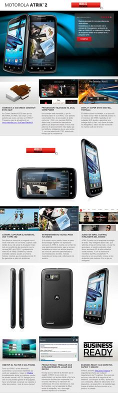 Celular Motorola Atrix 2 4G Libre - Mobiles Premium En Argentina