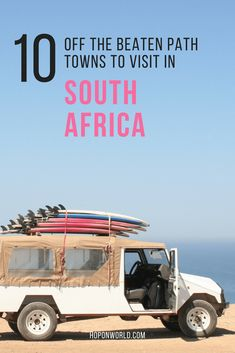 Looking for some off the beaten path places in South Africa? Weve got you covered. Discover ten of the best small towns in South Africa which you simply shouldnt miss. Safari, Africa Destinations, Travel Destinations, Cape Town, Uganda, Travel Guides, Travel Tips, Travel Photographie, African Countries