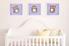 Project Nursery - JennyDaleDesigns owl nursery decor
