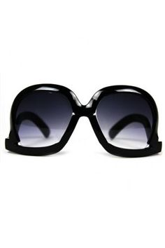 Inverted Frames Graduated Sunglasses