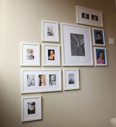 wall of frames | Easiest Way to Hang a Group of Frames on The Wall | Jenny Joy ...