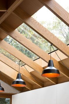 Grey Griffiths Architects' London extension features exposed roof structure Best Picture For roof light For Your Taste You are looking for something, and it is going to tell you exactly what you are l Metal Pergola, Pergola With Roof, Patio Roof, Light Architecture, Architecture Design, Roof Design, House Design, Architects London, Exposed Rafters