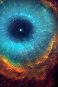 Science and Astronomy The Helix Nebula (NGC is a large planetary nebula located in the constellation Aquarius. The Helix Nebula's estimated distance from earth is about 215 parsecs or 700 light-years. EYE OF THE UNIVERSE. Planetary Nebula, Helix Nebula, Orion Nebula, Andromeda Galaxy, Horsehead Nebula, Carina Nebula, Cosmos, Hubble Space, Space And Astronomy