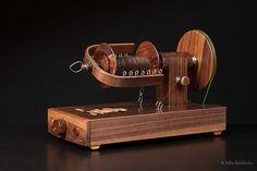 http://www.ravelry.com/people/gemina/handspun/name-tbd (DIY electrical spinning wheel)