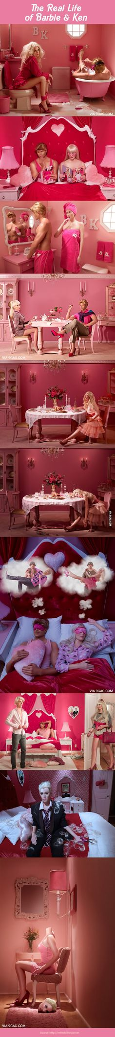 The Real Life Of Barbie And Ken