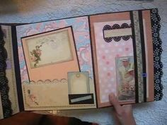 SCRAPPIN_RABBIT Large Scrapbook Not-So-Mini Album Graphic 45 Place In Time